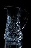 Crystal pitcher Royalty Free Stock Images