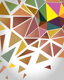 Crystal Polygon Background abstrait Vecteur Images stock