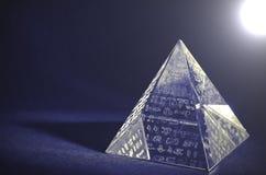 Crystal Pyramid- - Lomo-Effekte lizenzfreies stockfoto