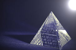 Crystal Pyramid - Lomo effekter Royaltyfri Foto
