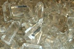 Crystal quartz background Royalty Free Stock Photos