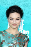 Crystal Reed arriving at the 2012 MTV Movie Awards Stock Photos