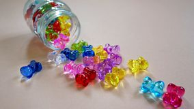 Crystal Ribbon Ornament Stock Image