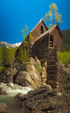 Crystal River and the Lost Horse Mill Royalty Free Stock Photography