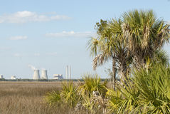 Crystal River Nuclear Power Plant Royalty Free Stock Photo