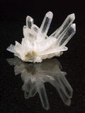 crystal rock Arkivfoto
