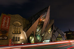 The Crystal in the Royal Ontario Museum, Toronto royalty free stock images