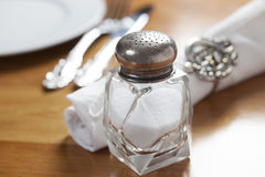 Crystal Salt Shaker Stock Images