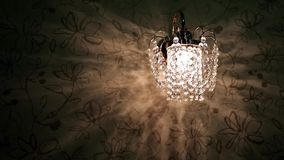Crystal sconce Royalty Free Stock Photo