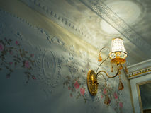 Crystal sconces Royalty Free Stock Photography
