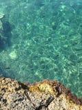 Crystal sea stock image