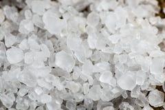 Crystal Sea Salt Fotografía de archivo libre de regalías