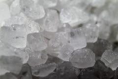 Crystal of sea salt stock photo