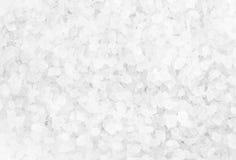 Crystal Sea Salt può usare come fondo, primo piano fotografia stock libera da diritti