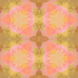 Crystal seamless pattern. Stock Photography