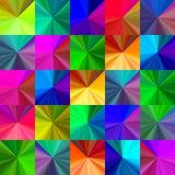 Crystal seamless pattern Royalty Free Stock Image