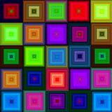 Crystal seamless pattern Royalty Free Stock Photography