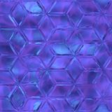 Crystal seamless texture Stock Photo