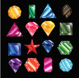 Crystal Set Fotografia Stock