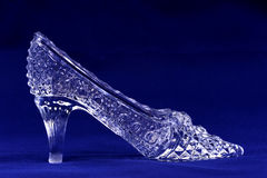 Crystal shoe Stock Photos