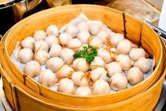 Crystal Skin Dumplings cocido al vapor foto de archivo libre de regalías