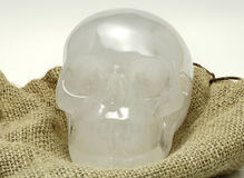 Crystal Skull. Photo of a Crystal Skull Royalty Free Stock Photos