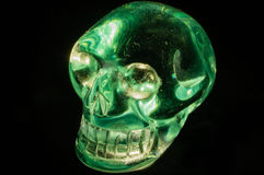 Crystal skull Royalty Free Stock Photography