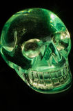 Crystal skull Stock Images