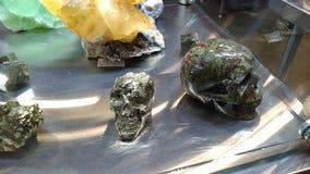 Crystal Skulls Immagini Stock Libere da Diritti