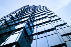 Crystal Skyscrapers Reflection Royaltyfri Foto