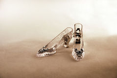Crystal Slipper Royalty Free Stock Photography
