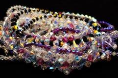 crystal smycken Arkivfoton