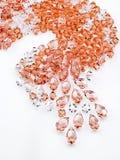 crystal smycken royaltyfria foton