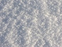 Crystal snow surface background Stock Photography