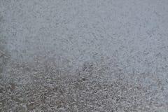 Crystal Snowflakes på fönster 8 Royaltyfri Bild