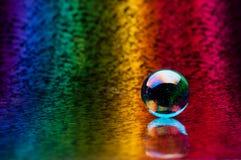 Crystal sphere Stock Photos