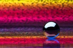crystal sphere Arkivfoton