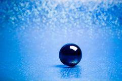 Crystal sphere Stock Image