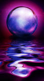 Crystal Sphere in vivid hues Stock Images