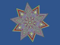 Crystal Star Royalty Free Stock Images