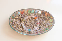 Crystal stone Stock Images