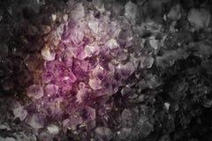 Crystal Stone macro mineral Royalty Free Stock Image