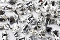 Crystal strasses Royaltyfria Foton