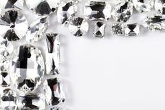 Crystal strasses Arkivfoton