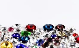 Crystal strasses Stock Photo