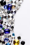 Crystal strasses Stock Image