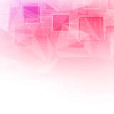Crystal structure abstract square background Stock Image