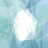 Crystal structure modern blue background. Clip-art Stock Photography