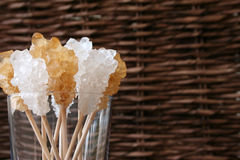 Crystal Sugar Stock Photo