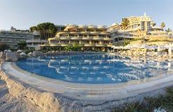 Crystal Sunrise Queen Luxury Resort u. BADEKURORT Hotel stockfoto